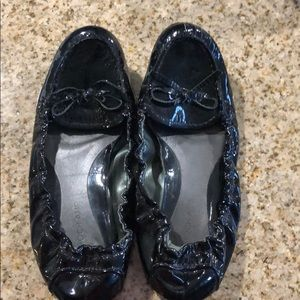 Adorable patent leather flats